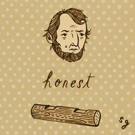Honest Abe by Susie Ghahremani / boygirlparty.com