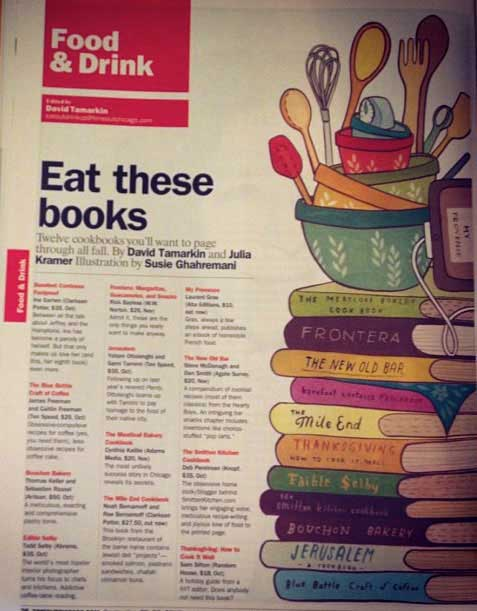 As my illustration appeared in Time Out Chicago in print, integrated into the page design!