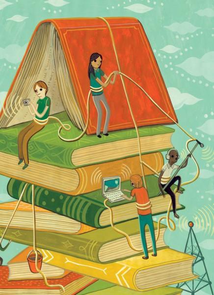 Purdue Alumni Magazine illustrations © Susie Ghahremani / boygirlparty.com