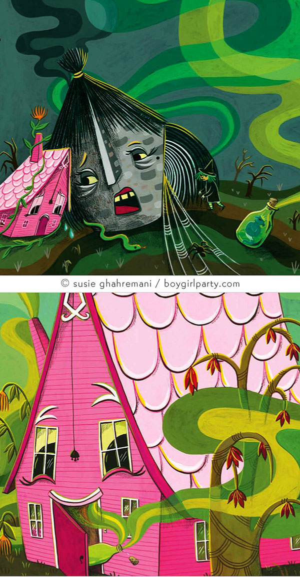 Children's Book Character Illustration by Susie Ghahremani / boygirlparty.com