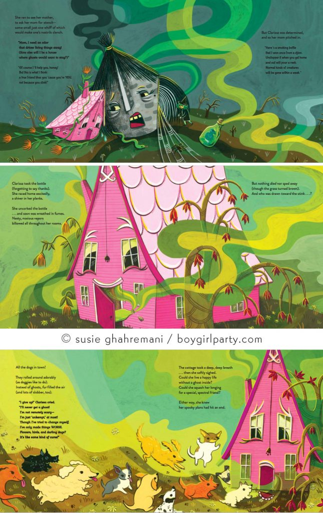 House Characters in Children's Book Illustration by Susie Ghahremani / boygirlparty.com