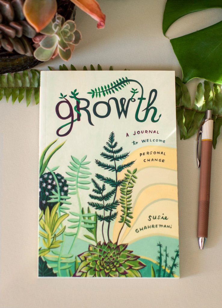 Botanical Cover illustration and design for Growth Journal by Susie Ghahremani