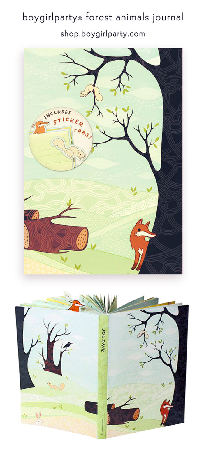 Woodland Animals Journal by boygirlparty